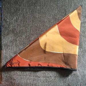 Vintage Uena Harvest Printed Scarf